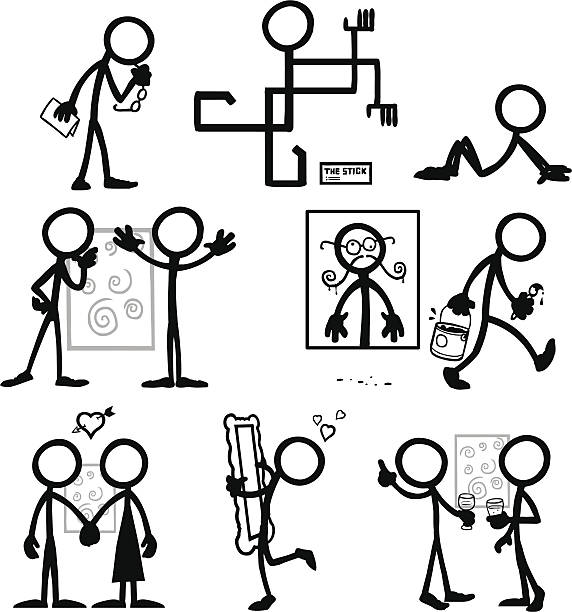 Stick Figure People Art Critic