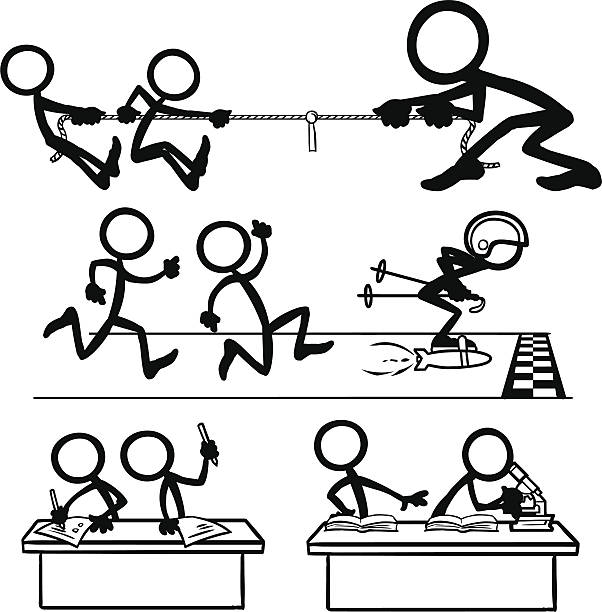Stick Figure People Cheating