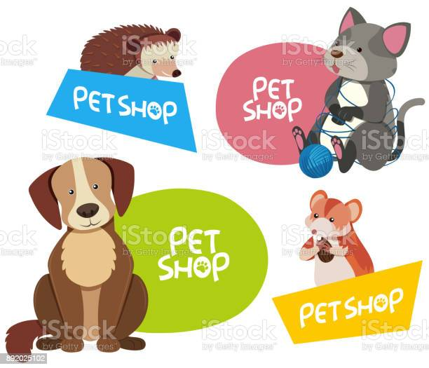 Sticker design for different types of pets vector id892025102?b=1&k=6&m=892025102&s=612x612&h=qy0 vu19hm4qvgbqoavnfaqvi8n2y11xuxtg9vu6igq=