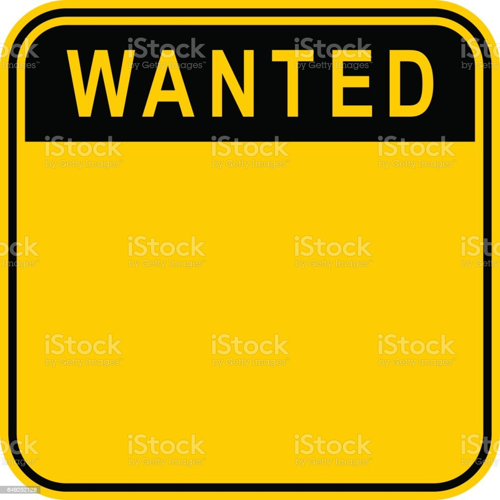 royalty free wanted poster clip art vector images illustrations rh istockphoto com clipart help wanted sign free clipart wanted sign
