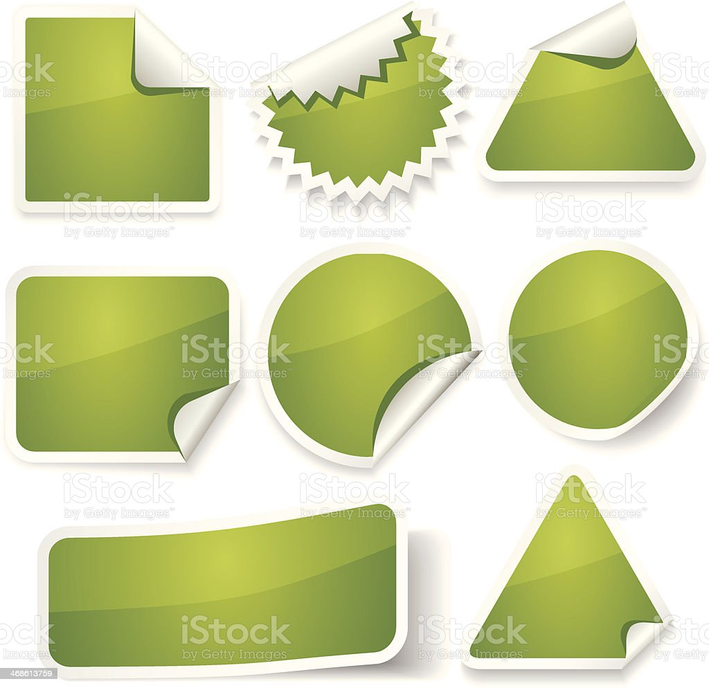 Stickers Set royalty-free stickers set stock vector art & more images of badge