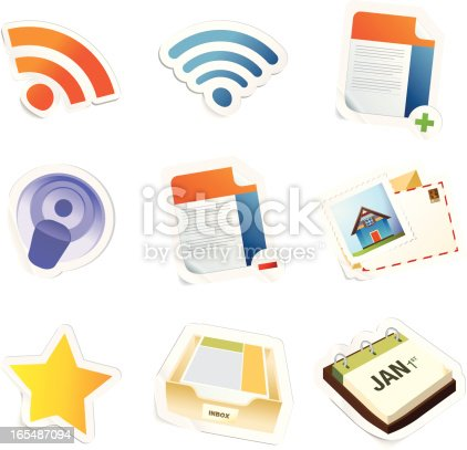 Sticky icons ready for your blog!