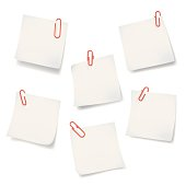A various angle of sticky note with red paper clips. Vector are in fine detail quality, come with layers, fully editable. ZIP contain Hires jpg, AI 10 & AI CS2.http://i654.photobucket.com/albums/uu266/lonelong/isolatedobject.jpg