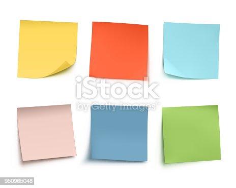istock Sticky Notes 950965048