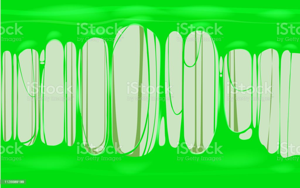 Sticky Slime Green Template Banner With Copy Space Popular Kids