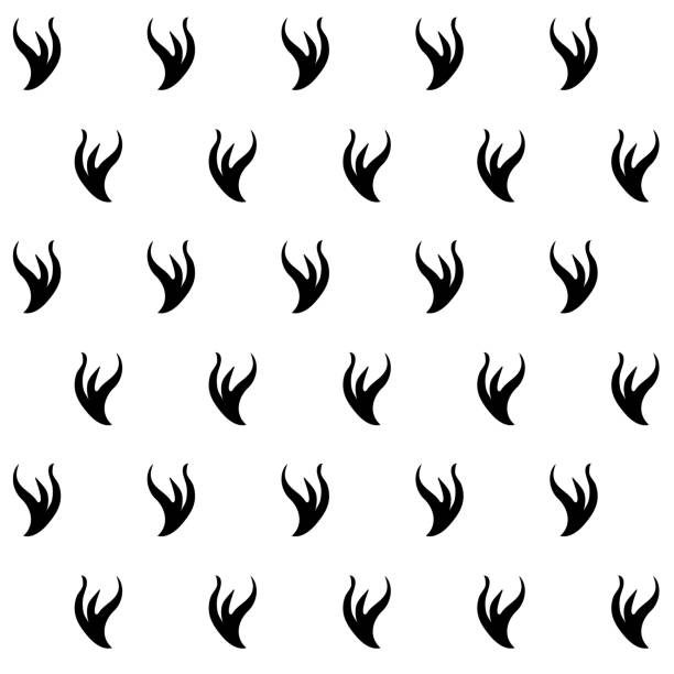 Stilyzed ermine fur seamless pattern. Stilyzed ermine fur seamless pattern. Appears as a lining for royalor judjes mantles. Represents authority and power. Element for designing Coats of arms, medieval style illustrations. EPS 10 vector ermine stock illustrations