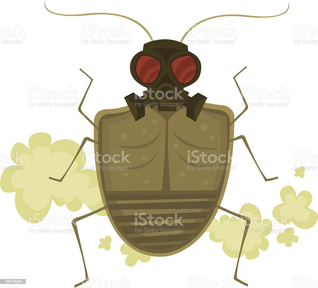Stink Bug royalty-free stock vector art