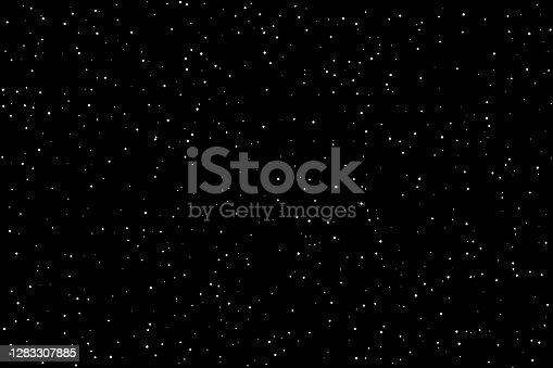 Stippled vector texture background - White dots on black