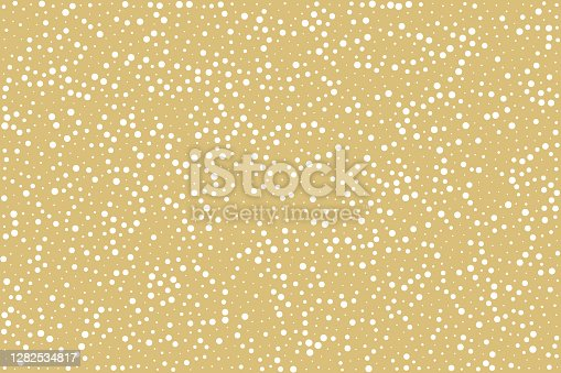 Stippled vector texture gold background