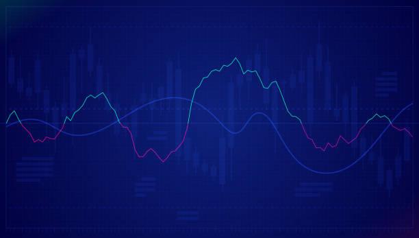 ilustrações, clipart, desenhos animados e ícones de gráfico de ações - economia