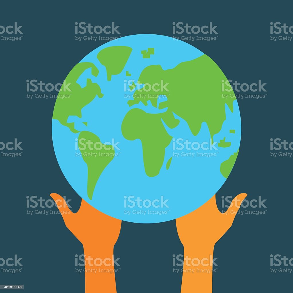 Stock flat icon globe and hands eps stock vector art more images stock flat icon globe and hands eps royalty free stock flat icon globe and hands gumiabroncs Images