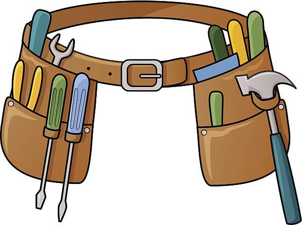 Best Tool Belt Illustrations, Royalty-Free Vector Graphics