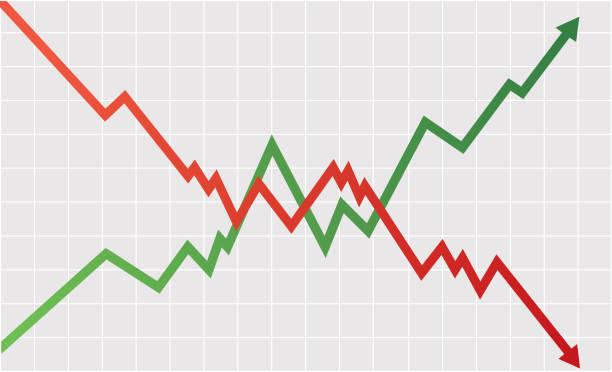 Stock-index – Vektorgrafik