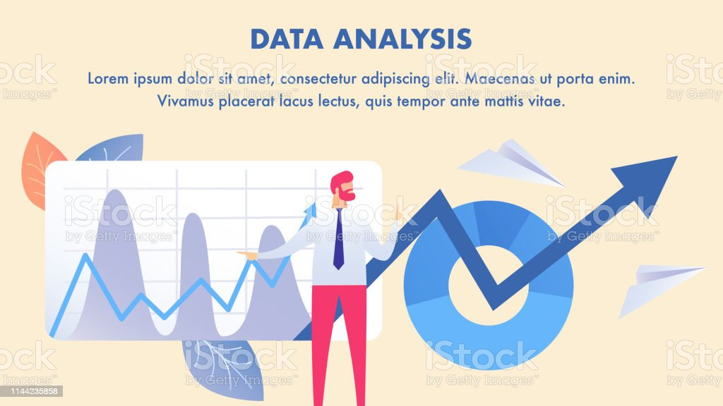 Stock Market Analysis Data Science Banner Layout Stock