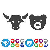 Stock Market Icons - Graphic Icon Series