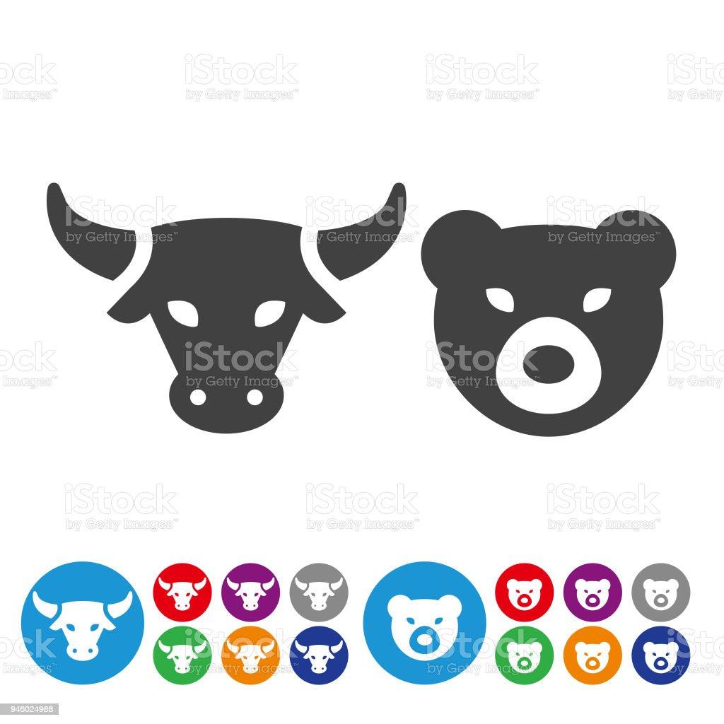 Stock Market Icons - Graphic Icon Series vector art illustration