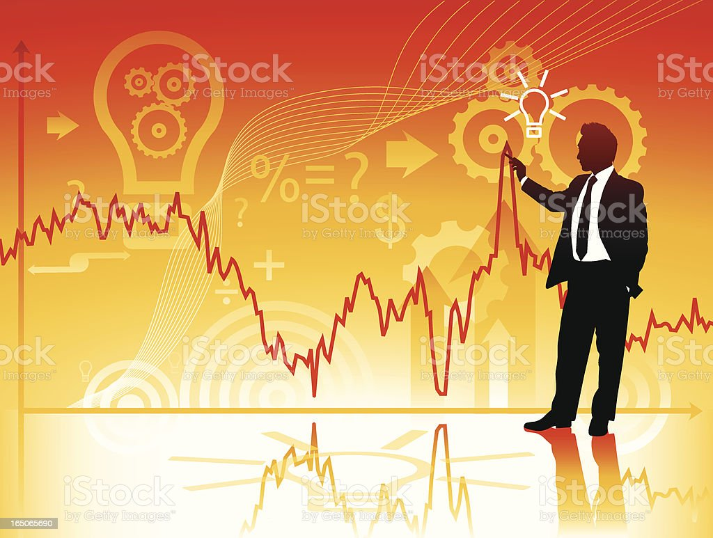 Stock Market Opportunity.... royalty-free stock vector art
