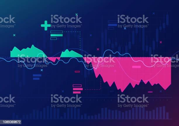 Bourse Trading Résumé De Lanalyse Financière Vecteurs libres de droits et plus d'images vectorielles de Abstrait