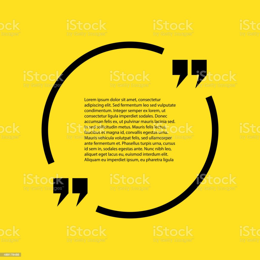 Free Stock Quote Stock Quote The Text On A Yellow Background Stock Vector Art