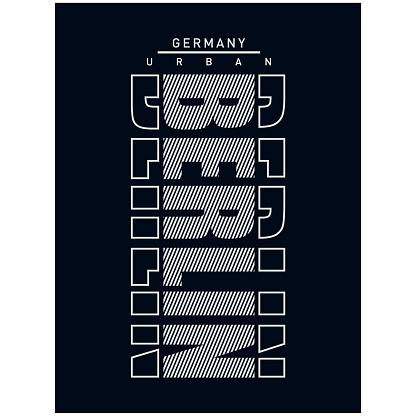 stock vector-vector illustration berlin germany typography t-shirt graphics prin