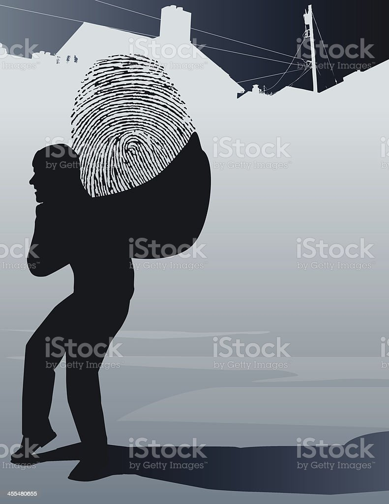 Stolen Identity royalty-free stolen identity stock vector art & more images of adult