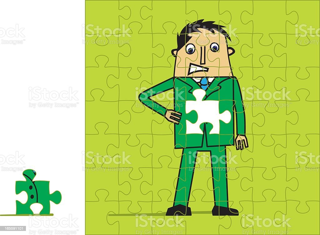Stomach Trouble royalty-free stock vector art
