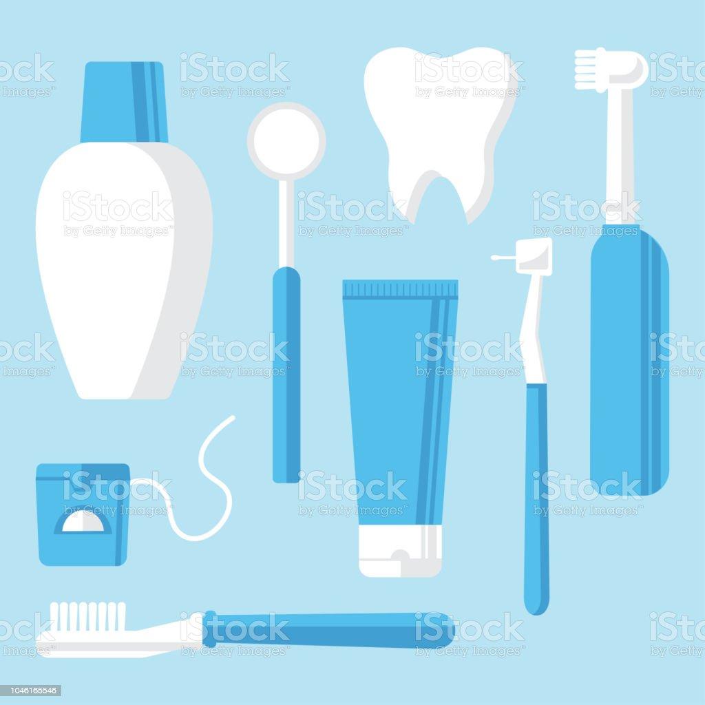 8a807873d Vetor de Estomatologia Higiene Oral E Higiene Odontologia E Limpeza ...