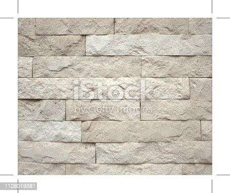 Stone blocks brick wall textured background