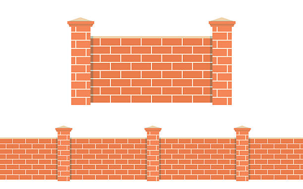 Brick Vector Picture Brick Veneers: Royalty Free Castle Wall Clip Art, Vector Images