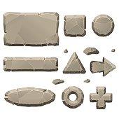 Stone game design elements