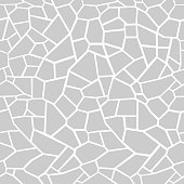 Stone seamless texture. Stone overlay texture. Mosaic tracery texture. Design background. Vector illustration.