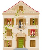Retro house with 8 windows and different characters and relationships. White background, high detalisation, soft colors. ZIP contains CDR-11, AI-CS. [url=http://www.istockphoto.com/file_search.php?action=file&lightboxID=6556059][img]https://lh5.googleusercontent.com/-3MYDv26QJ3I/UJluqdU7YGI/AAAAAAAAAFo/WRbKYsZM_wM/s380/vetta.jpg[/img][/url] One more retro house: [url=http://www.istockphoto.com/file_closeup.php?id=7793783][img]http://www.istockphoto.com/file_thumbview_approve.php?size=2&id=7793783[/img][/url] Retro city: [url=http://www.istockphoto.com/file_closeup.php?id=7793704][img]http://www.istockphoto.com/file_thumbview_approve.php?size=2&id=7793704[/img][/url]