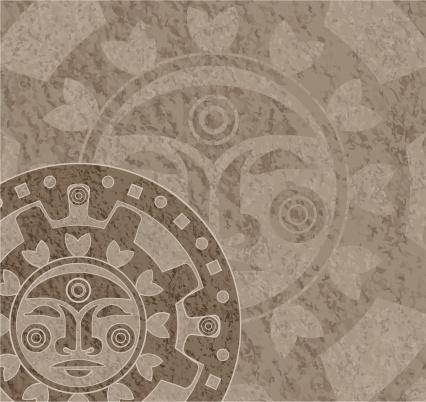 Stone Mayan Calendar
