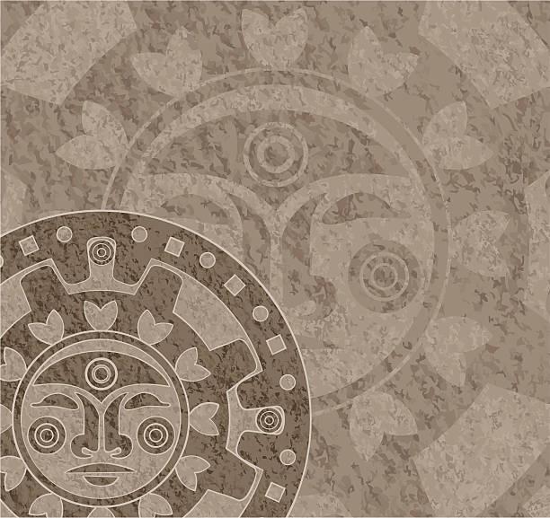 Mayan Calendar Vector Art : Royalty free mayan calendar clip art vector images