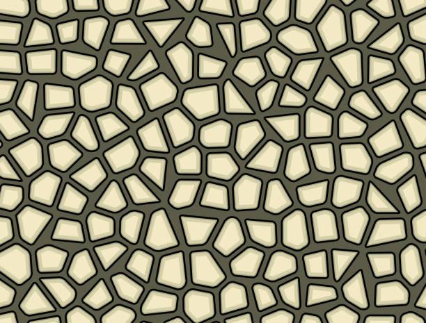 stein, kiesel textur mosaik vektor hintergrundbild - kieselmosaik stock-grafiken, -clipart, -cartoons und -symbole