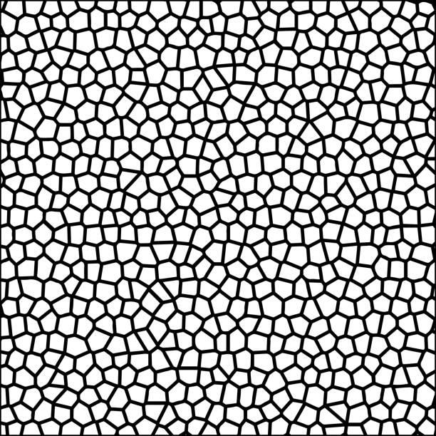 stein, kiesel textur silhouette mosaik vektor hintergrundbild - kieselmosaik stock-grafiken, -clipart, -cartoons und -symbole