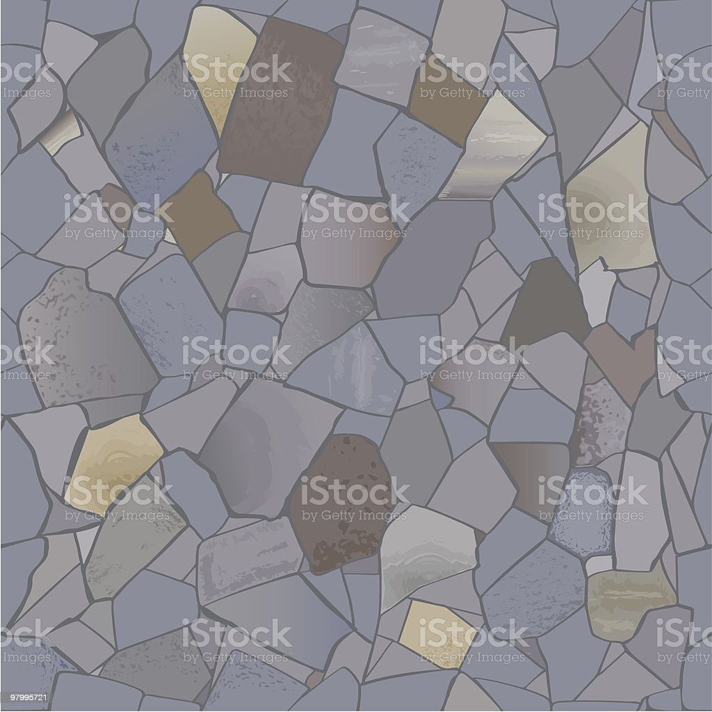 Stone wall. royalty-free stone wall stock vector art & more images of architecture