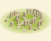 stonehenge isometric