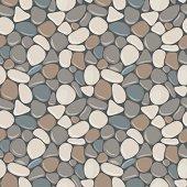 Stones seamless pattern.