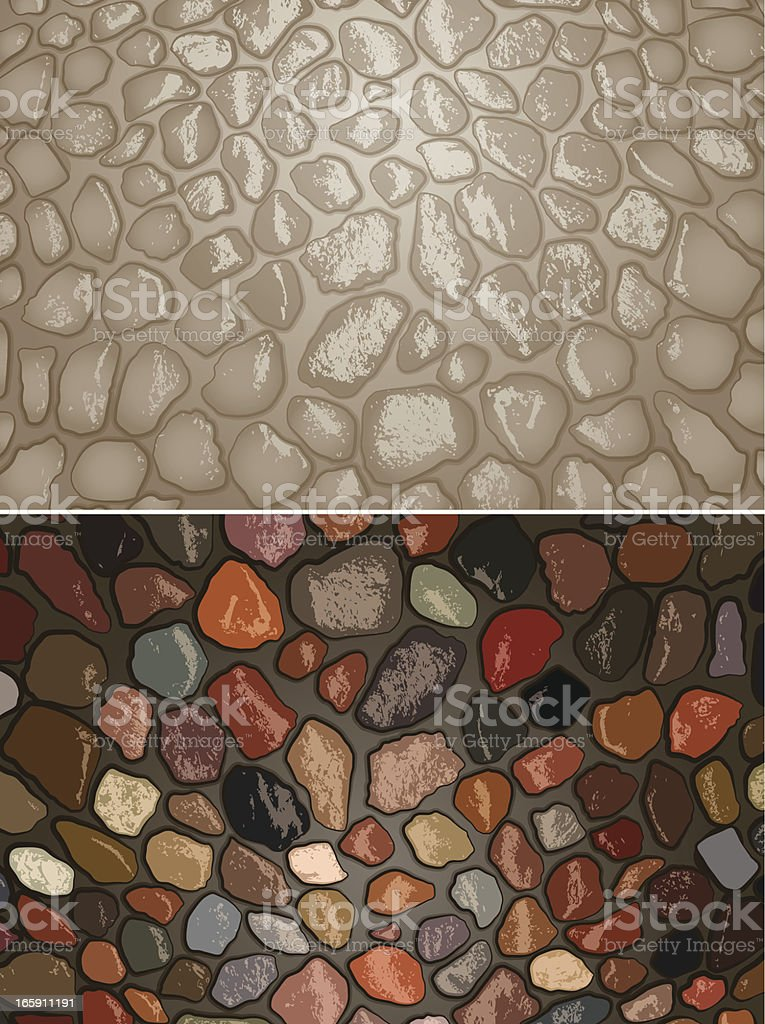 Stonework royalty-free stock vector art