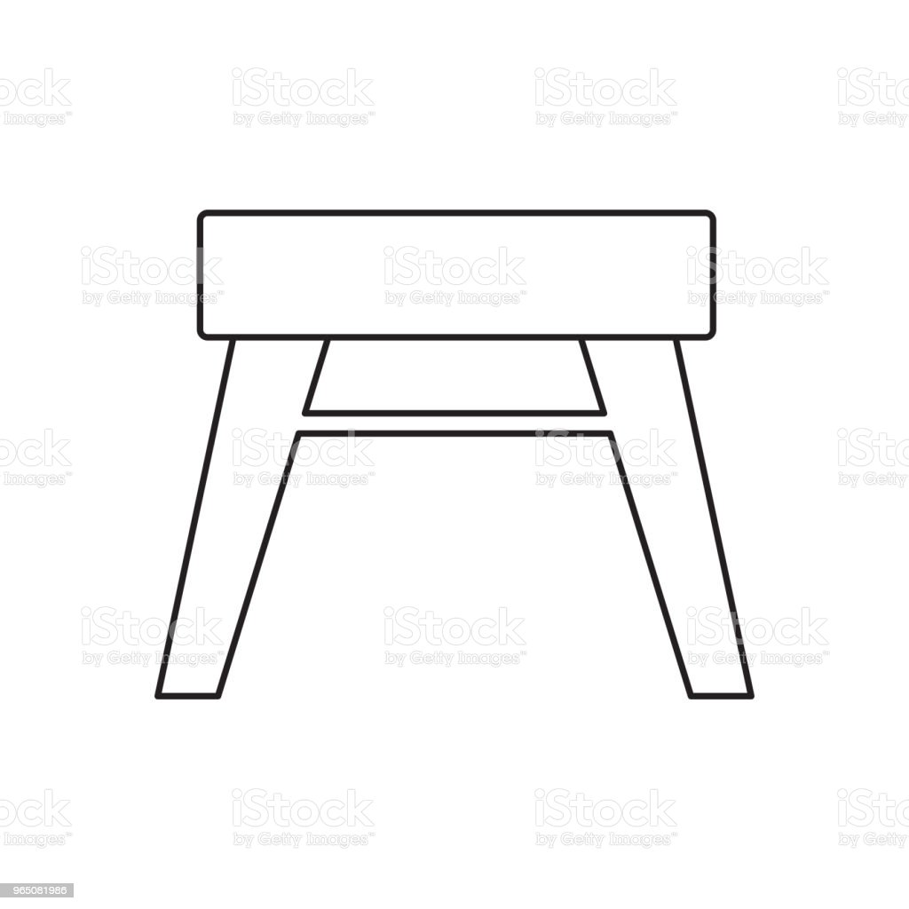 stool line icon royalty-free stool line icon stock vector art & more images of azerbaijan