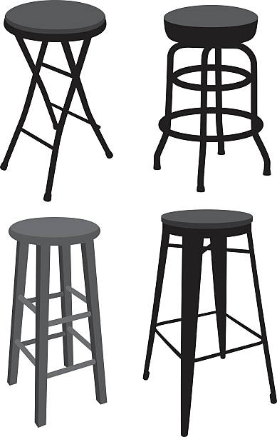 Best Stool Illustrations Royalty Free Vector Graphics