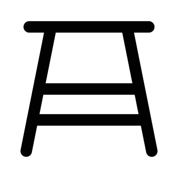 ilustrações, clipart, desenhos animados e ícones de banquinho - banco assento