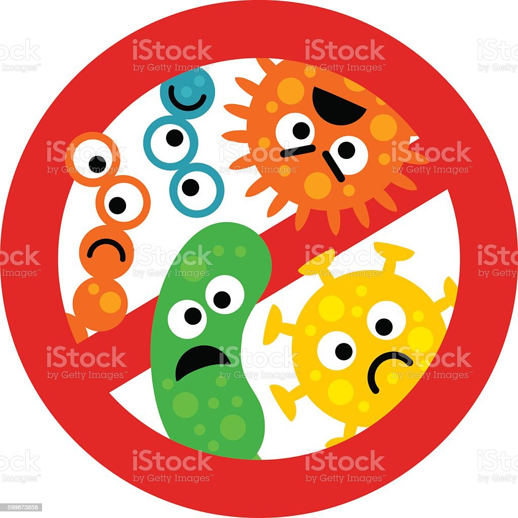 royalty free infectious disease clip art  vector images gems clip art germs clip art purple