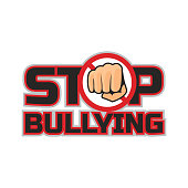 stop bullying, no bullying logo