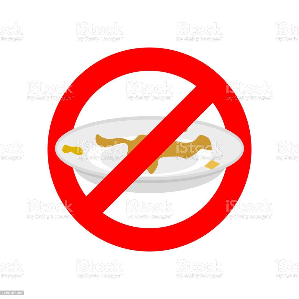 Arrêter La Vaisselle Sale Nutilisez Pas De Vaisselle Sale ...