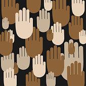 Stop Racism Vector Desing