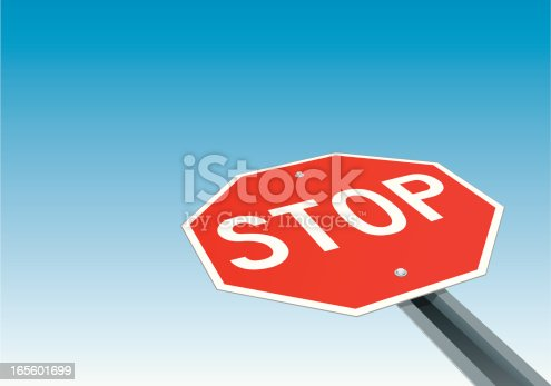 istock Stop Sign 165601699