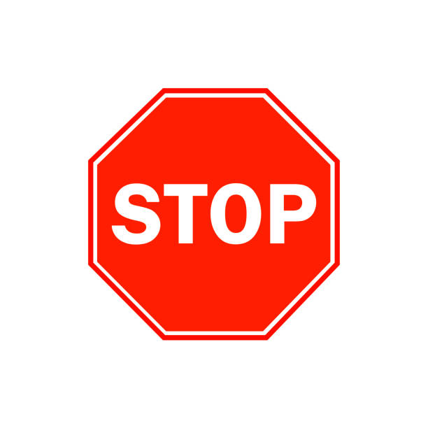 Stop sign Stop sign stop stock illustrations