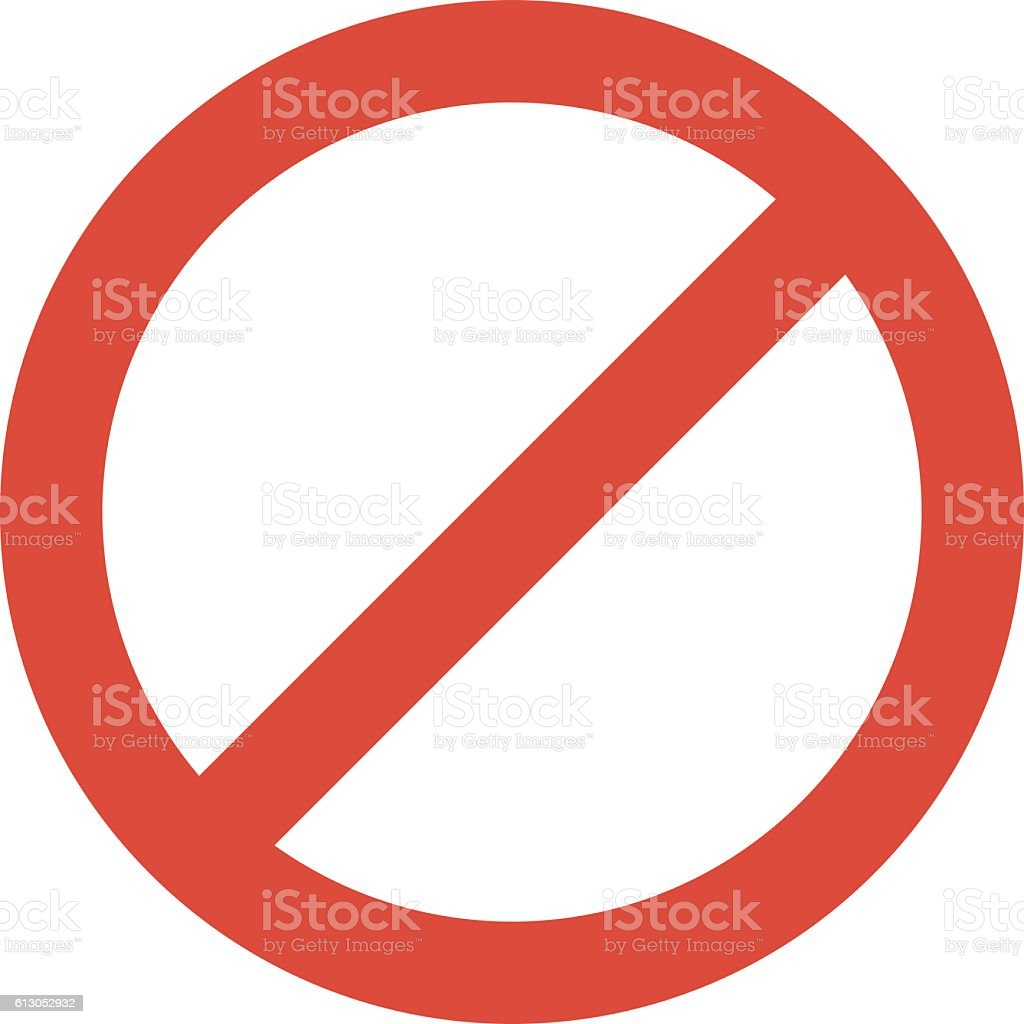 Stop sign vector illustration